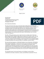 AdministratorMcCarthy PFOA Contamination