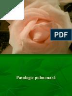 Patologie Pulmonară