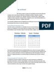Calendario 2016 en Excel