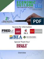 Economic Outlook 2016