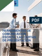 Herramientas de Comunicación Escrita. Cartas de Presentación