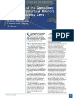 St. Vincent and the Grenadines Offshore Structures & Onshore Tax and Residency Laws