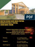 PKA- PROGRAM GERAK GEMILANG SPM 2005 MRSM PONTIAN