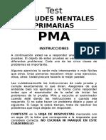 PMA. Cuadernillo de Estímulos
