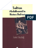 12955719 Sultan Abdulhamid in Hatıra Defteri