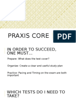 2016 praxis pp