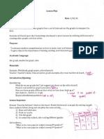 Modified Math Lesson
