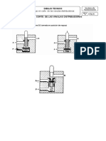 Plan-De-secion-dibujo de Corte de Las Valvulas Distribuidoras