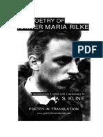 Poetry of Rainer Maria Rilke, The - Rainer Maria Rilke