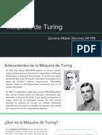 Presentación - Máquina de Turing