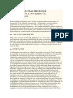 Unidad Curricular Medios de Comunicación e Información Internacional