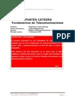 APUNTES CÁTEDRA Fundamentos de Telecomunicaciones para alumnos