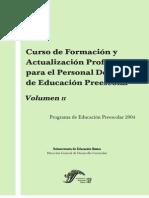 PREESCOLAR Curso Formaci+¦n Vol 2