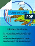 Ciclo Del Agua Precentacion