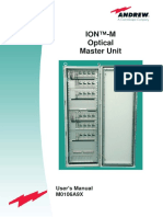 ION M Optical Master Unit