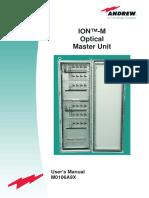 ION M Optical Master Unit