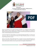 2014-12-11 Entrega SEDESOL 5 Mil Tarjetas Del Programa Sin Hambre a Familias Juarenses - Con Ellas Pueden Obtener Alimentos