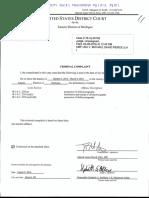 Affidavit against Michael David Pierce