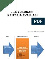 PENYUSUNAN kriteria evaluasi.pptx
