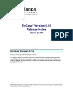EnCase v6.15 Release Notes