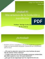 Unidad IV Mecanismos de Evolución - Copia