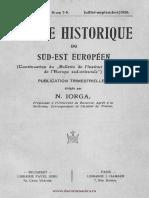 Revue Historique du Sud-Est Européen, 03 (1926), 3
