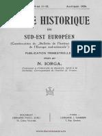 Revue Historique du Sud-Est Européen, 03 (1926), 4