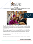 2015-02-20 Participa Presidente Municipal junto con el Gobernador del Estado en toma de posesión de nuevo Obispo de Ciudad Juárez