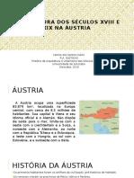 Arquitetura Dos Séculos XVIII e XIX Na Áustria  (Primeira Parte)
