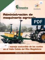 Administracion de Maquinaria Agricola - Corpoica