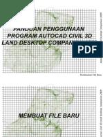 Panduan Autocad Land Desktop 2009