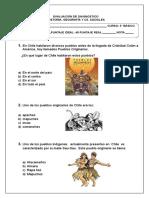 Evaluación Cs Sociales 2º Básico 2015