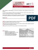 Carta Presentacion Axtel Xtremo 200mbps Empresarial.