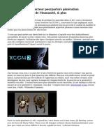 'XCOM 2 's' Art directeur pourparlers g?n?ration proc?durale, perte de l'humanit?, & plus