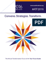 ATF 2016 - African Transformational Forum - Your Forum Guide
