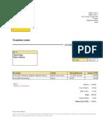 Invoice Model