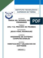 UML Proceso de Pruebas
