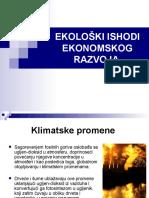 Lidija Cakić, Tamara Ranđelović - Ekološki Ishodi Ekonomskog Razvoja