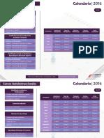 Programa Desarrollo Docente Laurearte 2016