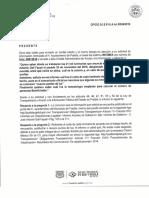 Respuesta Infomex luminarias Ayuntamiento de Puebla