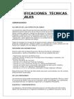 Especificaciones Tecnicas 2016 Henrry