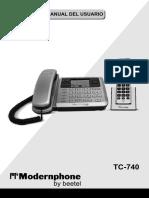 CAPAGA Modernphone TC-740