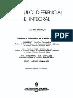 Banach - Calculo Diferencial e Integral