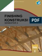 bab untuk tahapan Finishing Konstruksi Kayu