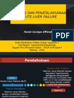 Referat acute liver failure
