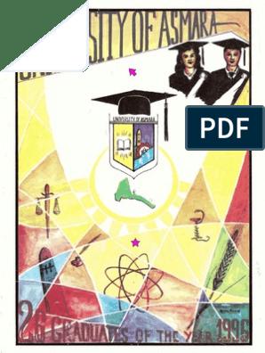 University of Asmara Graduation - July 1996   Test