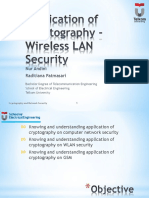 Application Cryptography Wireless LAN Security