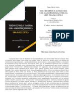 Terceiro Setor e as Parcerias Com a Administração Pública Uma Análise Crítica 2 Edição Tarso Cabral Violin