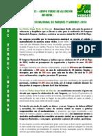 Los Verdes Informan Congreso Parques y Jardines