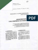 Adquisicion Empresa - Marangone